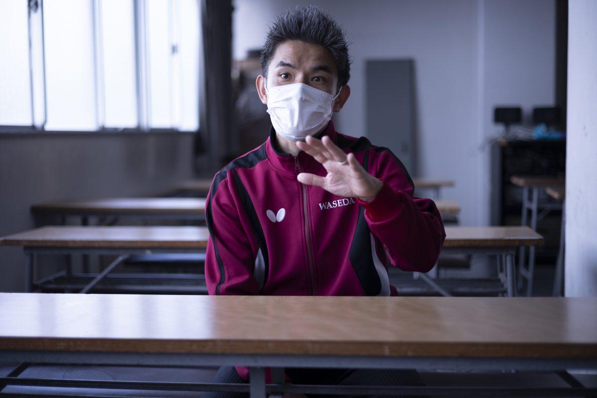 写真:永山監督(早稲田大学)/撮影:槌谷昭人