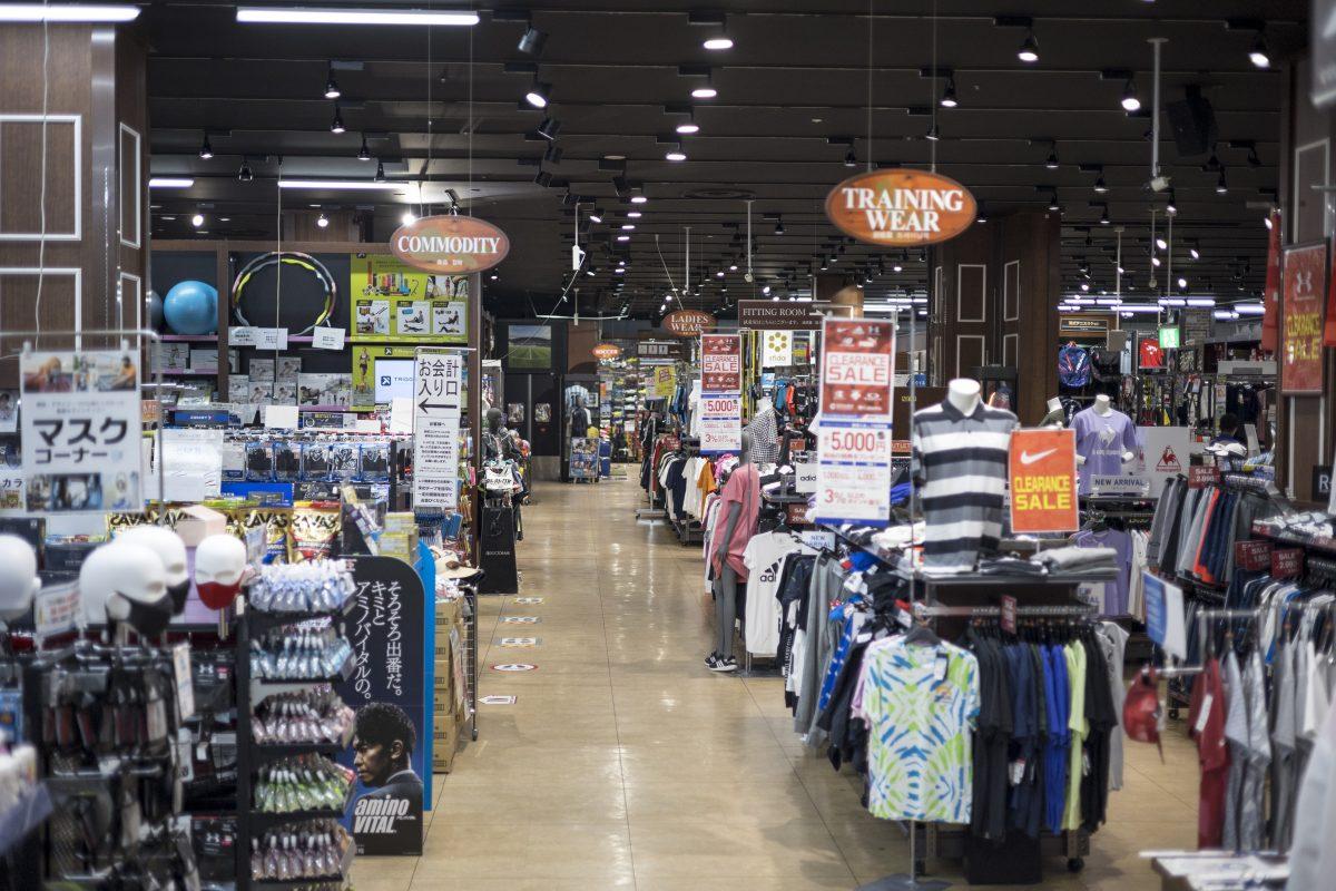 スーパースポーツゼビオ錦糸町の店内