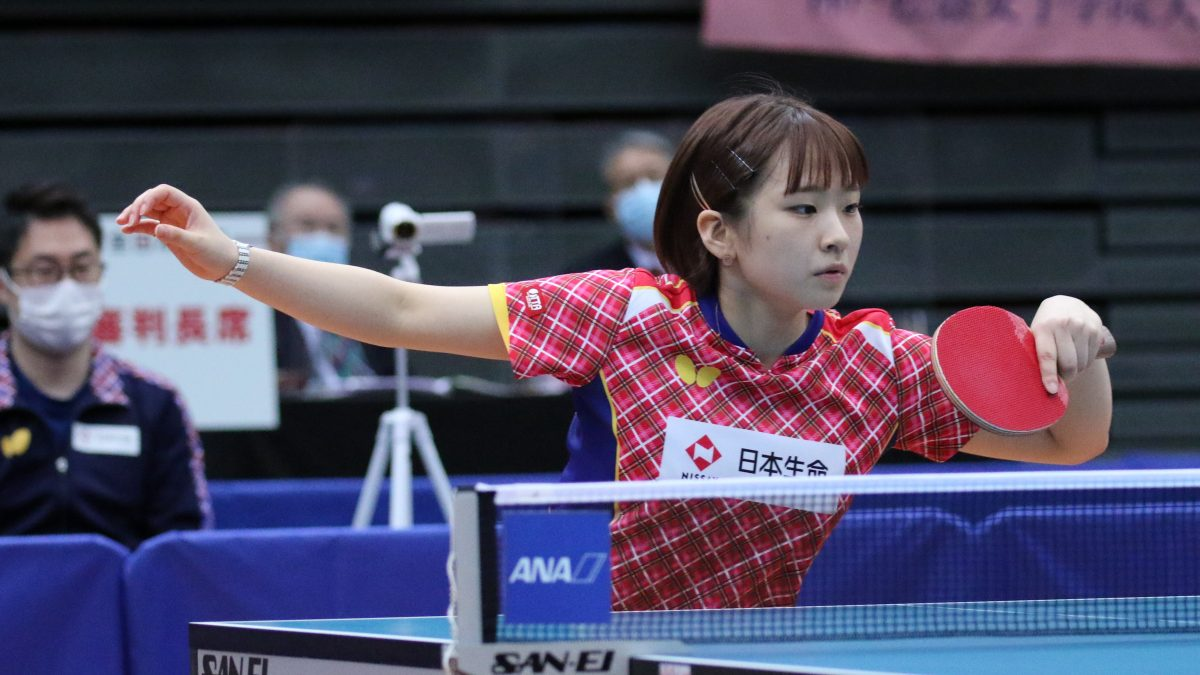 全日本卓球混合複で3回優勝の前田美優、引退発表 25歳で現役生活に終止符
