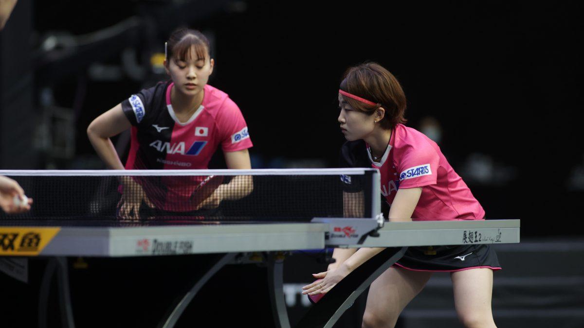 長﨑・安藤が女子単複で好発進 戸上は全3種目の初戦を勝利<卓球・WTTスターコンテンダードーハ>