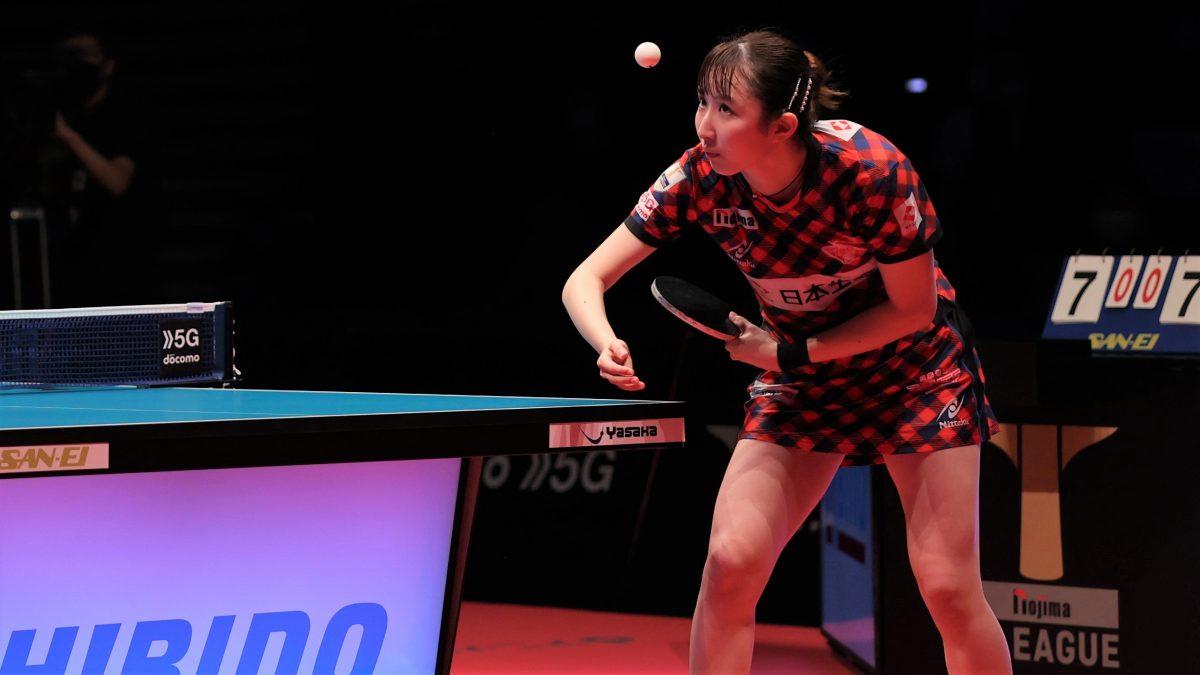 卓球女子世界ランキング(2021年第39週) 早田ひな、WTT優勝で21位に浮上