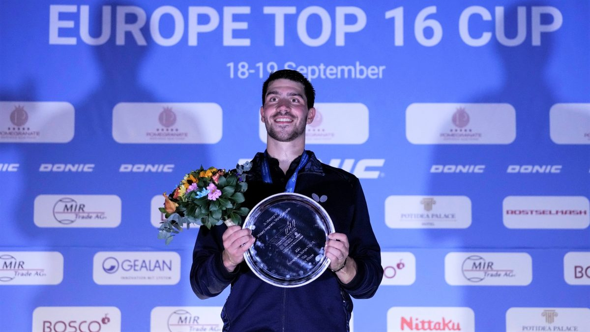 東京五輪銀メダリストのフランチスカが初優勝<卓球・ヨーロッパトップ16>