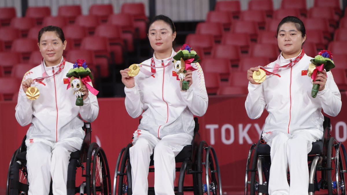 クラス4~5女子団体優勝 中国
