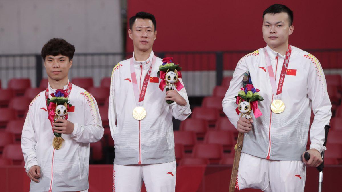 クラス6~7男子団体優勝 中国