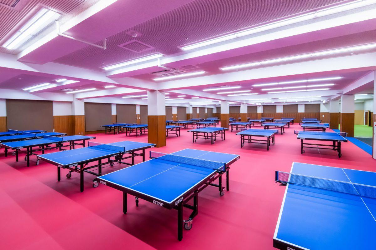 エスプラットフジスパーク 卓球施設