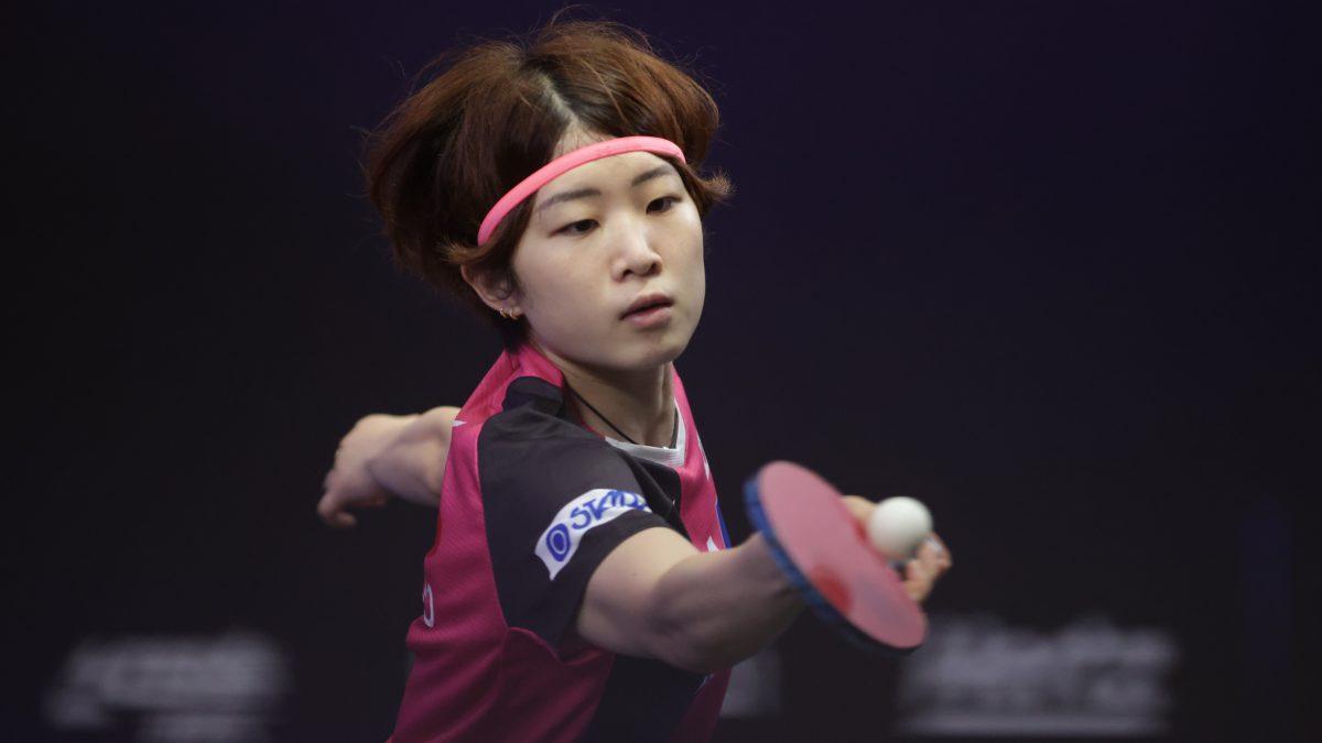 安藤みなみ、東京五輪韓国代表下し8強入り 次戦は早田ひなと<卓球・WTTスターコンテンダードーハ>