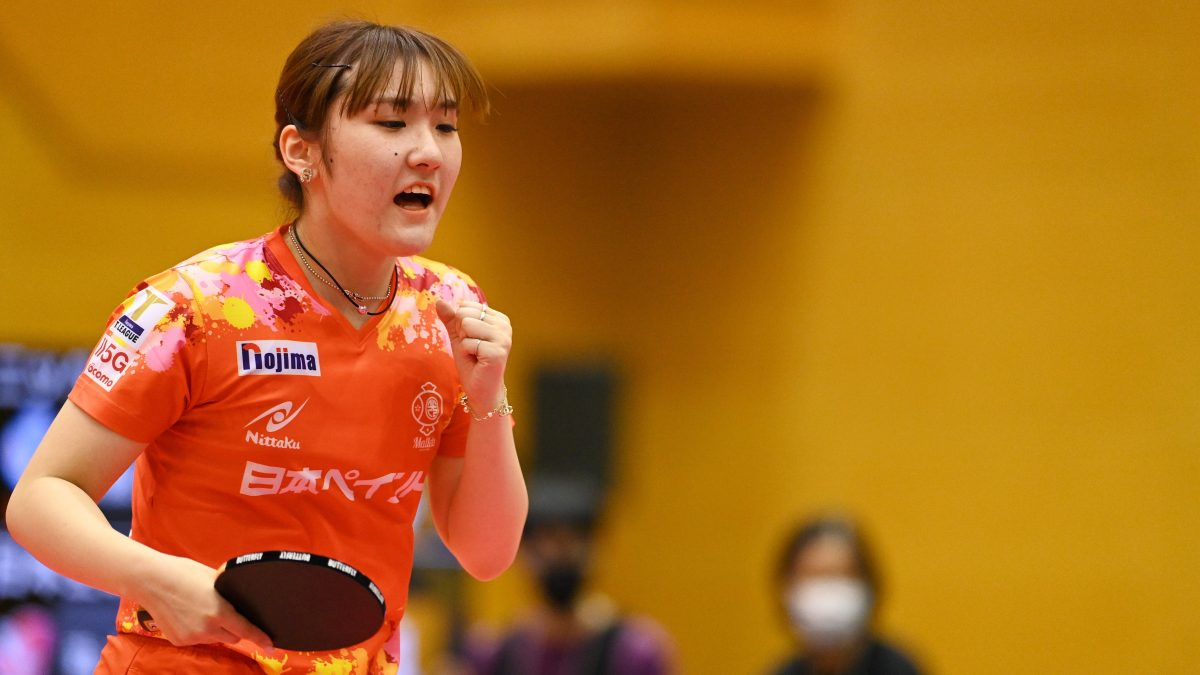 【Tリーグ】加藤美優が連日のビクトリーマッチ勝利 日本ペイントマレッツが開幕3連勝