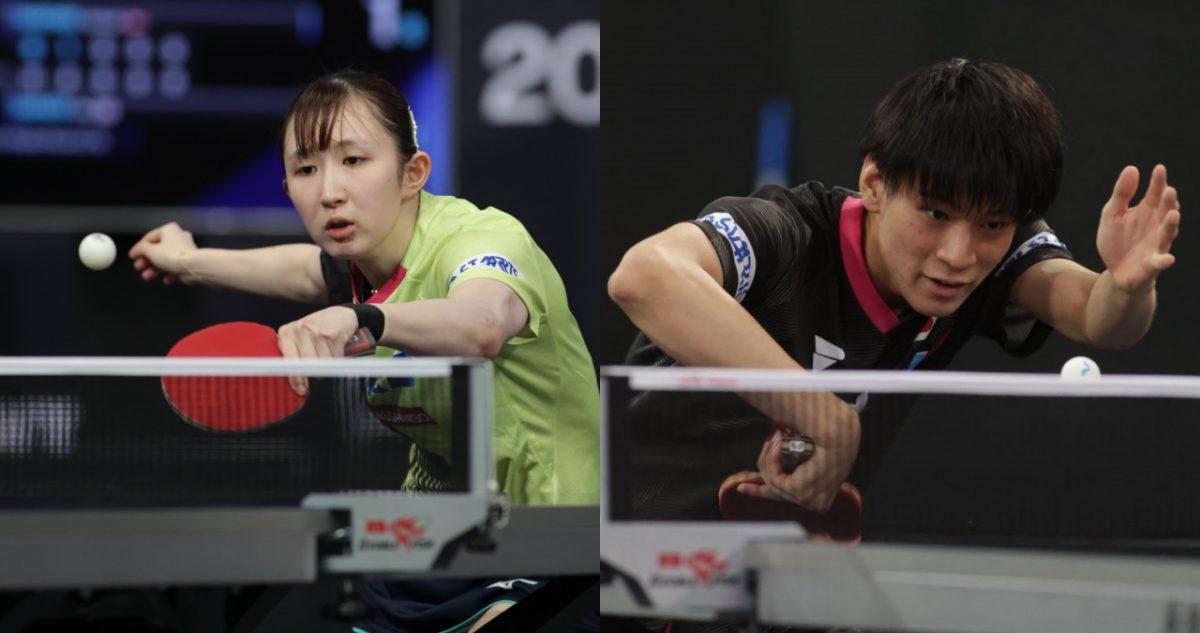 混合複で戸上・早田が初優勝 女子単複でも日本勢が優勝狙う<卓球・WTTスターコンテンダードーハ>