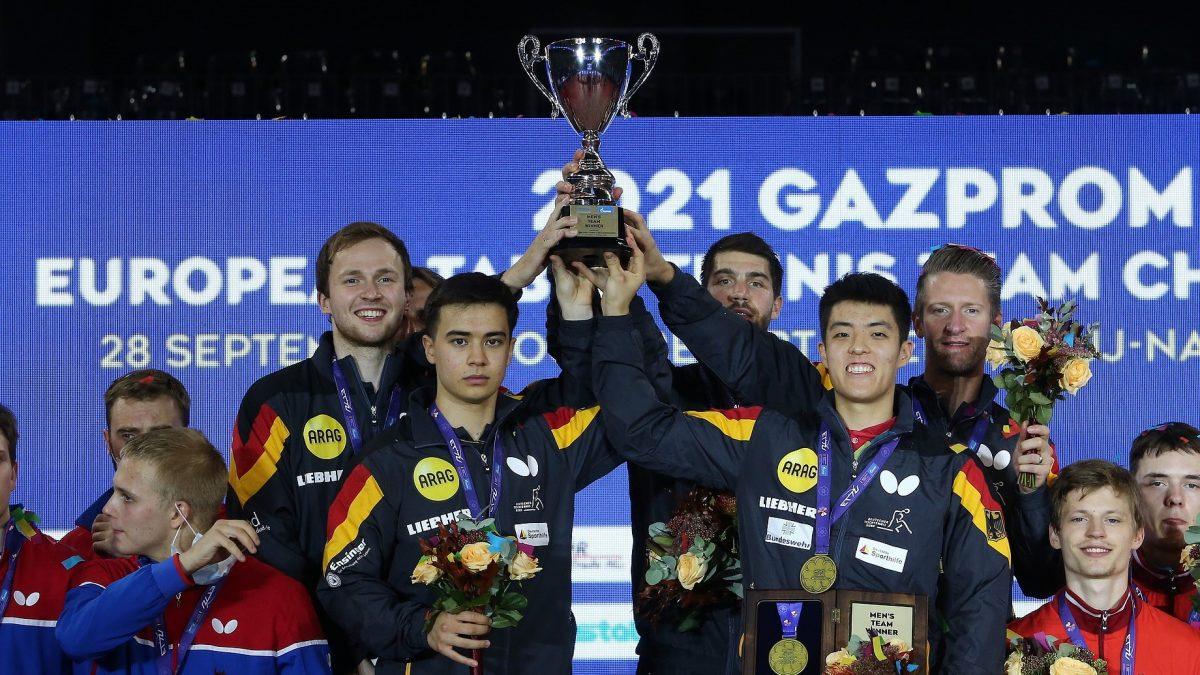 ボル、オフチャロフ不在も 選手層の厚さ見せたドイツが優勝<卓球・ヨーロッパ選手権>