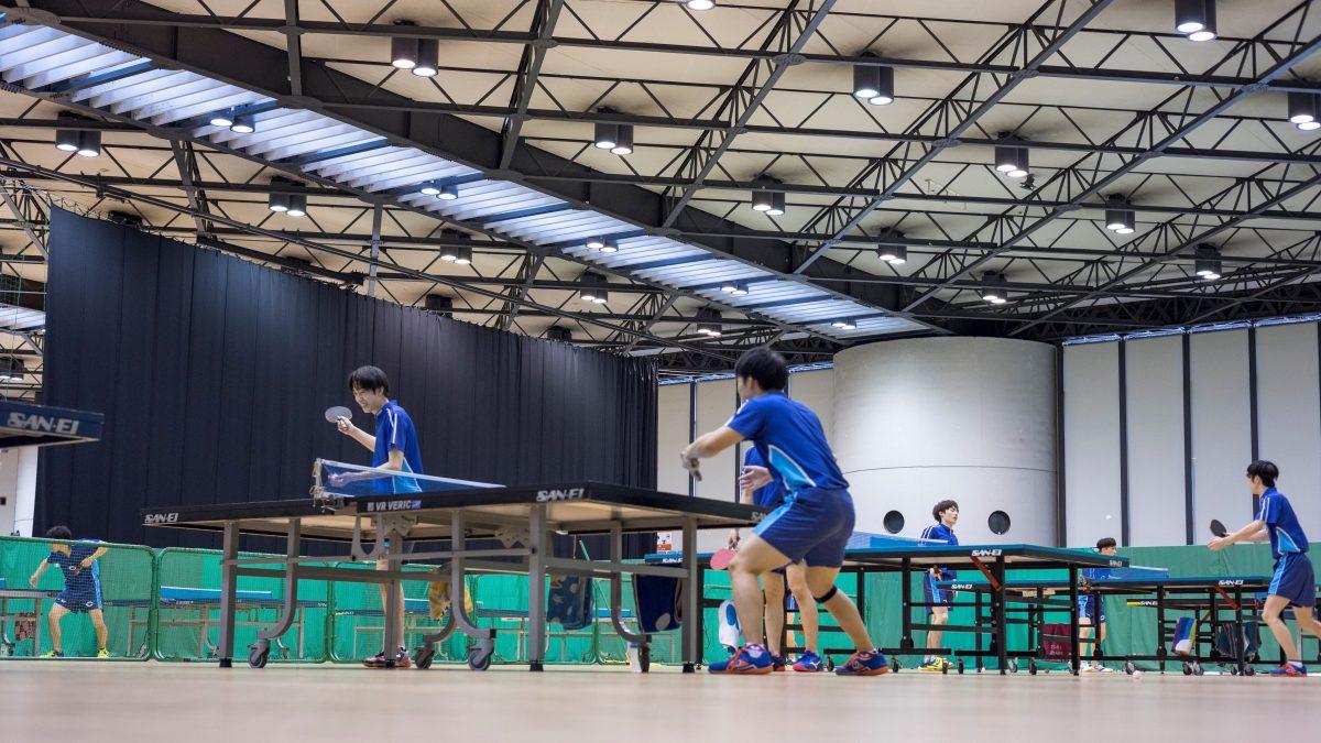 """「""""大学で強くなった""""と言われる環境を」強豪・中央大学卓球部男子の練習に潜入"""